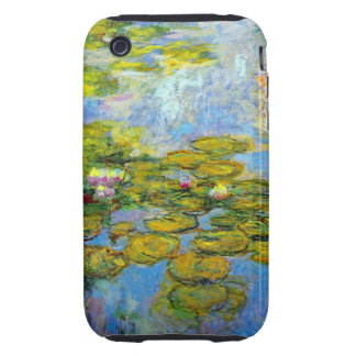 Monet Water Lilies 1919 Tough iPhone 3 Covers