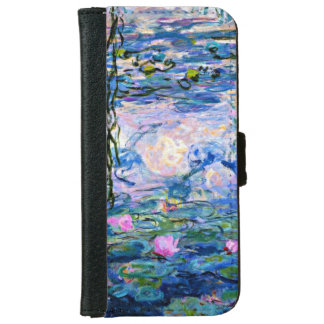 Monet - Water Lilies (1919) iPhone 6 Wallet Case