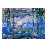 Monet: Water Lilies 1919 Poster