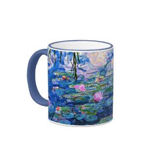 Monet: Water Lilies 1919 Ringer Mug
