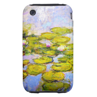 Monet Water Lilies 1919 v2 Tough iPhone 3 Covers