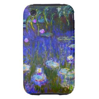 Monet - Water Lilies 1922 Tough iPhone 3 Case