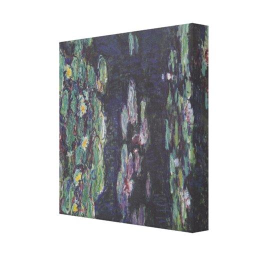 Monet Water Lilies Canvas Print