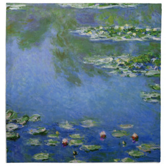 Monet Water Lilies Fine Art (1906) Napkin