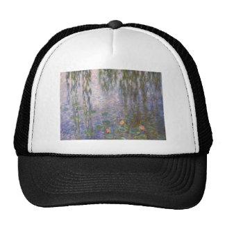 Monet Water Lilies Trucker Hats