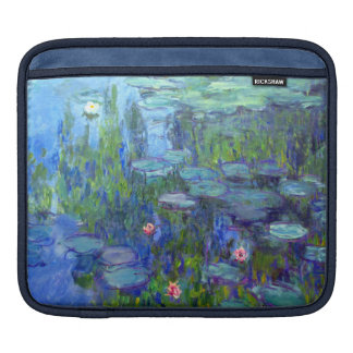 Monet Water Lilies iPad Sleeves