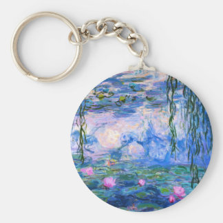Monet Water Lilies Key Chain