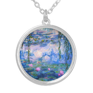 Monet Water Lilies Necklace