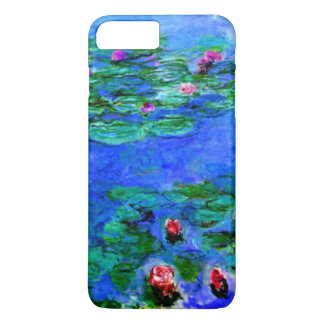 Monet - Water Lilies (red) iPhone 7 Plus Case