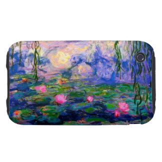 Monet Water Lilies v3 iPhone 3 Tough Cases