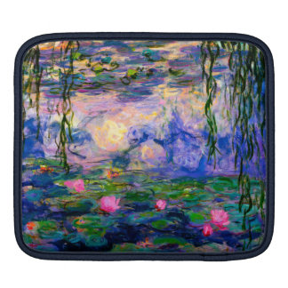 Monet Water Lilies v3 iPad Sleeve