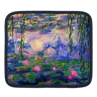 Monet Water Lilies v3 iPad Sleeve