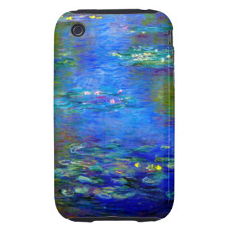 Monet Water Lilies v4 Tough iPhone 3 Cover