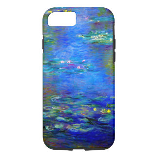 Monet Water Lilies v4 iPhone 7 Case