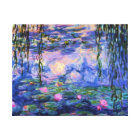 Monet Water Lilies with Pond Reflections Canvas Print