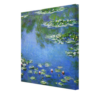Monet Water Lillies Canvas Print