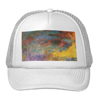 Monet Water Lily Pond Evening Cap