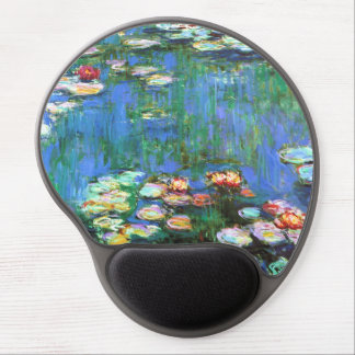Monet Water Lily Pond Gel Mouse Mat