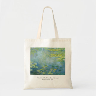 Monet Waterlilies 1906 Painting Tote Bag