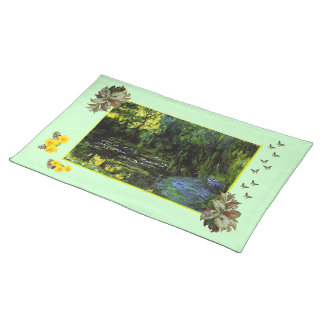MONET Weeping Willows Monet's Envy PLACEMAT