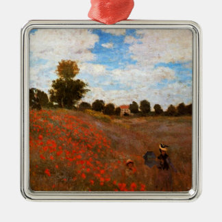 Monet - Wild Poppies Christmas Ornament