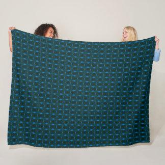 Monet Winter Satin Pattern Fleece Blanket