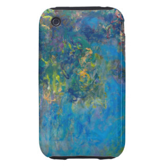 Monet Wisteria Tough iPhone 3 Case