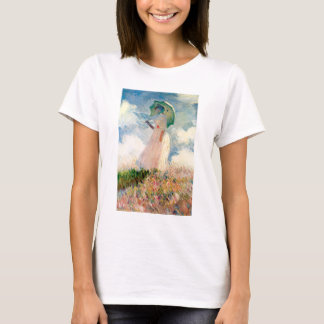 Monet Woman With A Parasol T-shirt