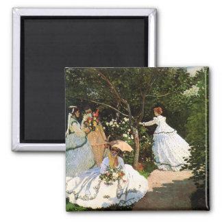 Monet Women in the Garden Magnet