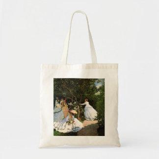 Monet Women in the Garden Tote Bag