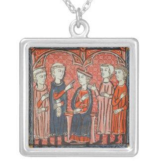 Monetary regulation, from 'Decrets de Gratien' Silver Plated Necklace