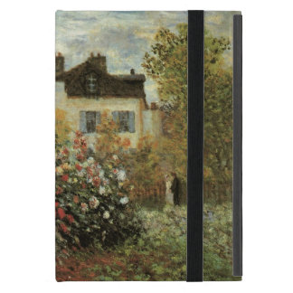 Monet's Garden at Argenteuil by Claude Monet Cover For iPad Mini