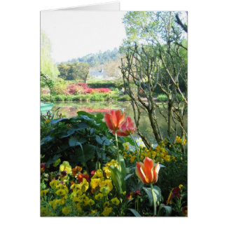 Monet's Gardens and Home Card
