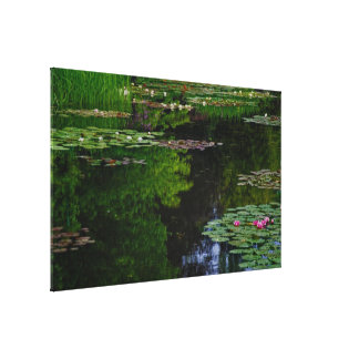 Monet's Lily Pond Gallery Wrapped Canvas