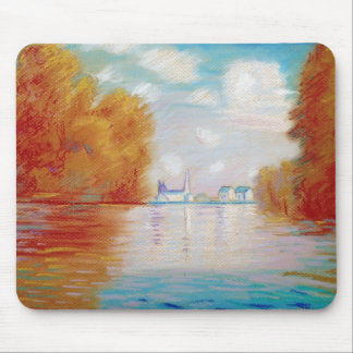 Monets River Mouse Mat