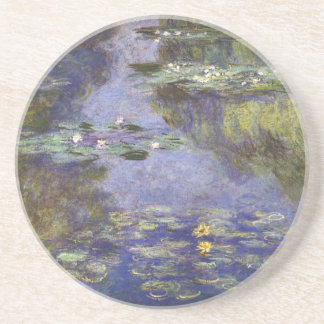 Monet's Water Lilies 1 Drink Coasters
