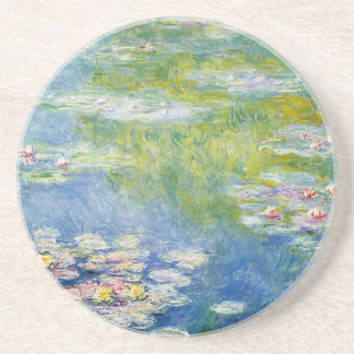 Monet's Water Lilies 3 of 3 Coasters
