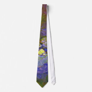 Monet's Water Lilies and Agapanthus Tie