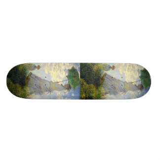 Monet's Woman with a Parasol (The Stroll / Walk) 20 Cm Skateboard Deck