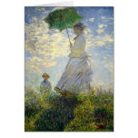 Monet's Woman with a Parasol (The Stroll / Walk) Cards