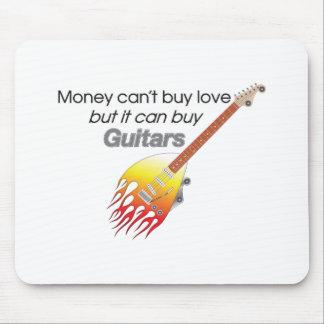 Money and Guitars Mousepad