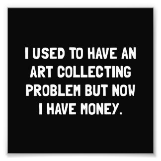 Money Art Collecting Problem Photo Print