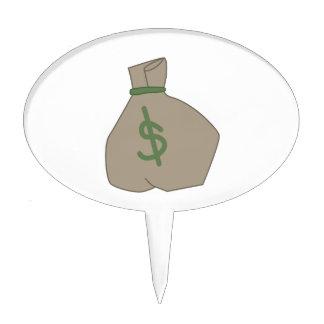Money Bag Cake Topper