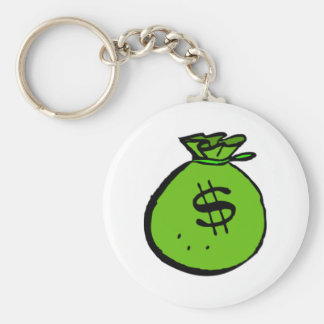 Money Bag Key Ring