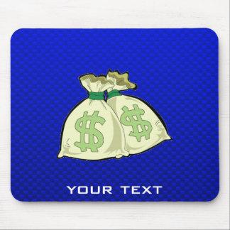 Money Bags; Blue Mouse Pad