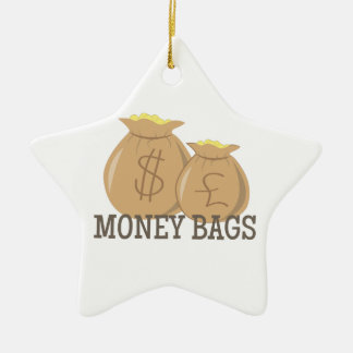 Money Bags Christmas Ornament
