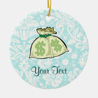 Money Bags; Cute Christmas Ornament