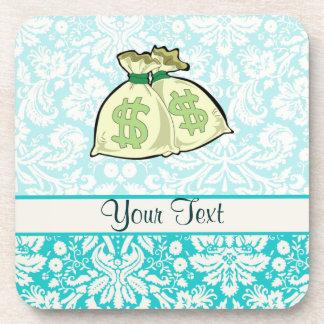Money Bags Cute Drink Coasters