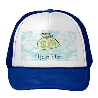 Money Bags; Cute Mesh Hats