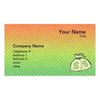 Money Bags design Business Cards